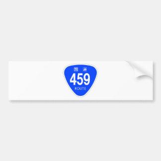 National highway 459 line - national highway sign bumper sticker
