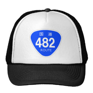 National highway 482 line - national highway sign trucker hat