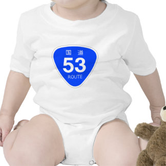 National highway 53 line - national highway sign tee shirts