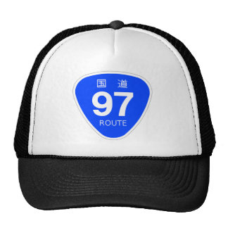 National highway 97 line - national highway sign trucker hat