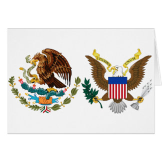 National Hispanic Heritage Month - Eagles Stationery Note Card