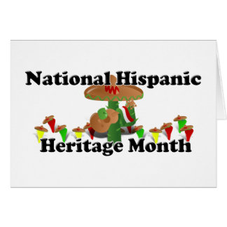 National Hispanic Heritage Month - Guitar Stationery Note Card