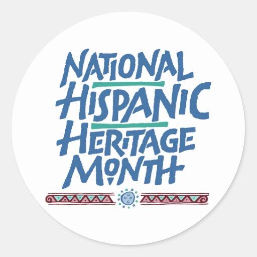 National hispanic heritage month sticker zazzle for National hispanic heritage month coloring pages
