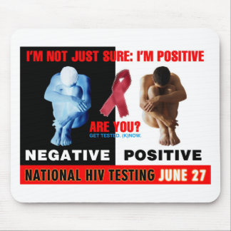 National HIV Testing Day Mousepads