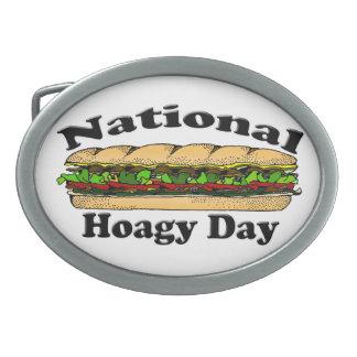 National Hoagie Day Belt Buckle