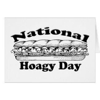 National Hoagie Day Stationery Note Card