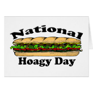 National Hoagie Day Card