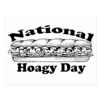 National Hoagie Day Postcard
