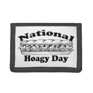 National Hoagie Day Tri-fold Wallet