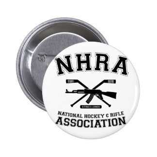 National Hockey and Rifle Association Button