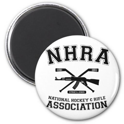 National Hockey and Rifle Association Magnet