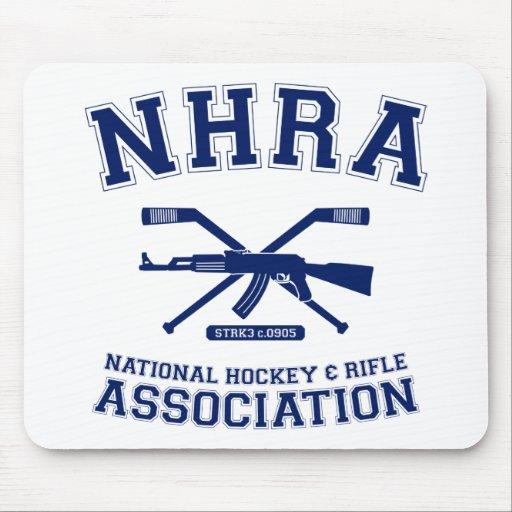National Hockey and Rifle Association Mousepad