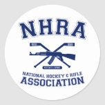 National Hockey and Rifle Association Stickers