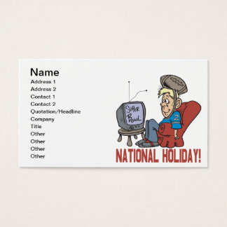 National Holiday Business Card