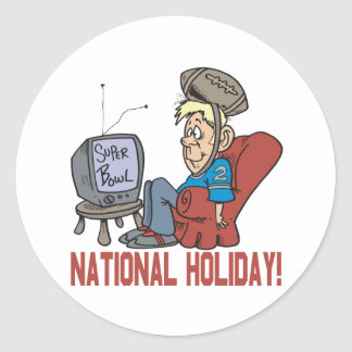 National Holiday Classic Round Sticker