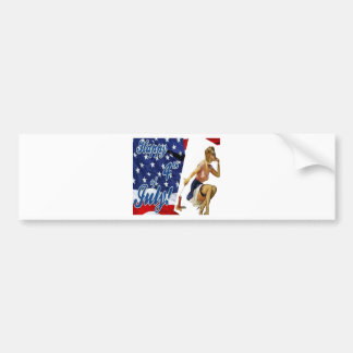 National holiday the USA 1.PNG Bumper Stickers