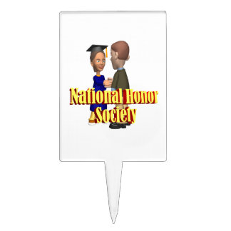 National Honor Society Cake Picks