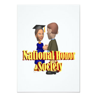 National Honor Society Card