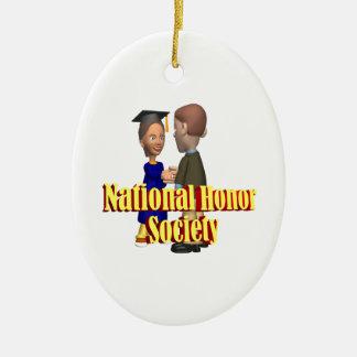 National Honor Society Ceramic Ornament