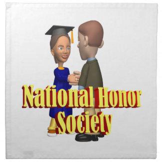 National Honor Society Napkin