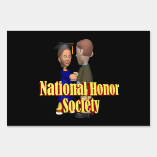 National Honor Society Lawn Signs