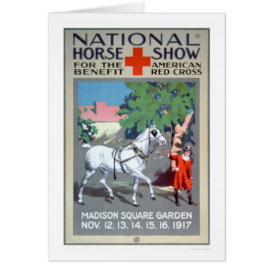 National Horse Show (US00272) Card