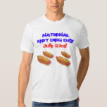 National Hot Dog Day - July 23rd Shirt