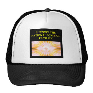 NATIONAL ignition facility fusion research Trucker Hat