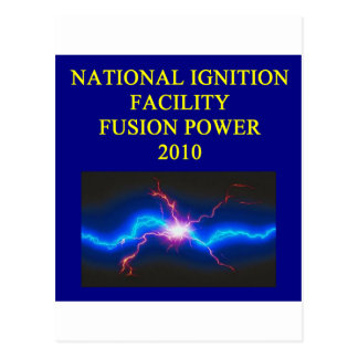 national ignition facility postcard