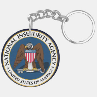 National Insecurity Agency Key Chain