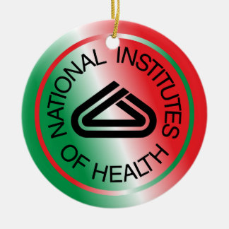 National Institute of Health Christmas Ornament