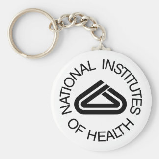 National Institute Of Health Keychain