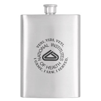 National Institute of Health VVV Shield Flask