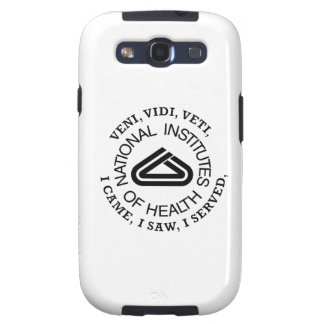 National Institute of Health VVV Shield Galaxy S3 Case