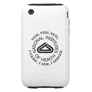 National Institute of Health VVV Shield iPhone 3 Tough Cover