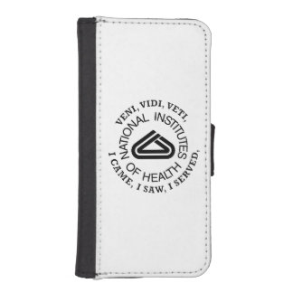 National Institute of Health VVV Shield iPhone SE/5/5s Wallet