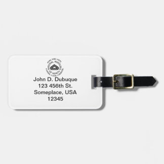 National Institute of Health VVV Shield Luggage Tag