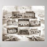 National League Baseball 1888 Poster