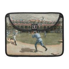National League Baseball Game 1886 Macbook Pro Sleeve at Zazzle