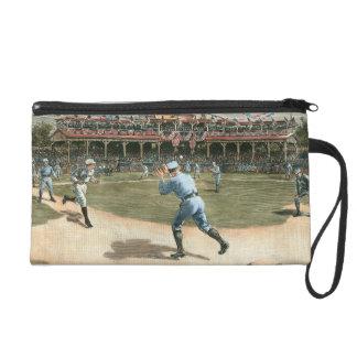National League Baseball Game 1886 Wristlet Purse