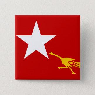 National League For Democracy, Myanmar flag Button