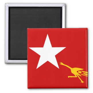 National League For Democracy, Myanmar flag Magnet