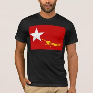 National League For Democracy, Myanmar flag T-Shirt