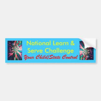 National Learn & Serve Challenge Bumper Sticker