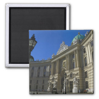 National Library, Hofburg (Imperial Palace) 2 Inch Square Magnet
