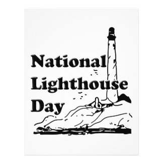 National Lighthouse Day Personalized Flyer