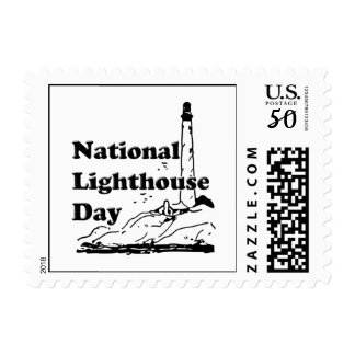 National Lighthouse Day Postage