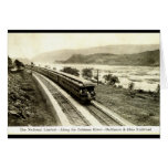National Limited Baltimore & Ohio Railroad c1920s Card