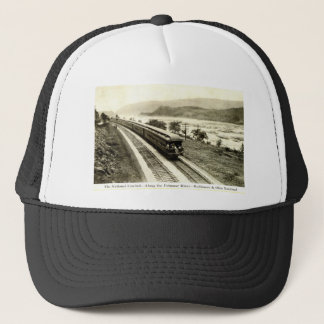 National Limited Baltimore & Ohio Railroad c1920s Trucker Hat