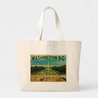 National Mall Washington D.C. Large Tote Bag